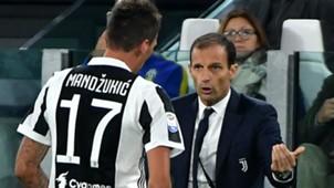 Mandzukic Allegri Juventus Serie A