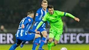 Alessandro Schöpf Schalke 04 Hertha BSC 25012019