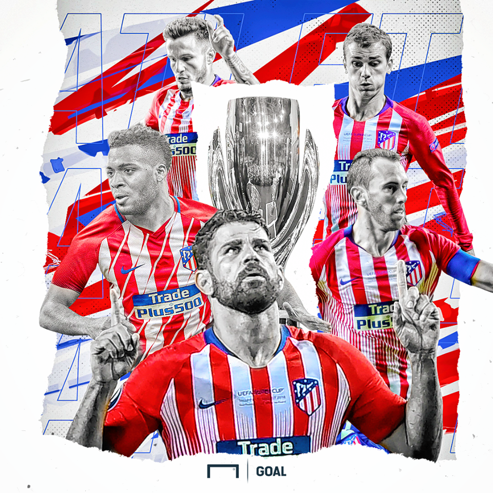 Atletico Madrid UEFA Super Cup 2018 GFX
