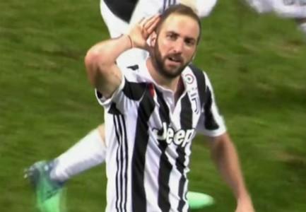 captura Higuain gol Inter Juventus