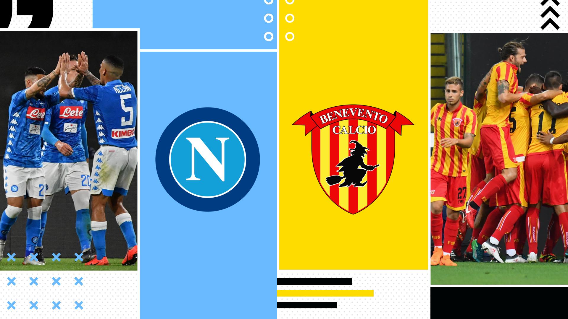 Napoli-Benevento tv streaming