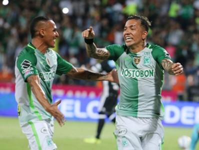 Dayro Moreno atlético Nacional vs Millonarios