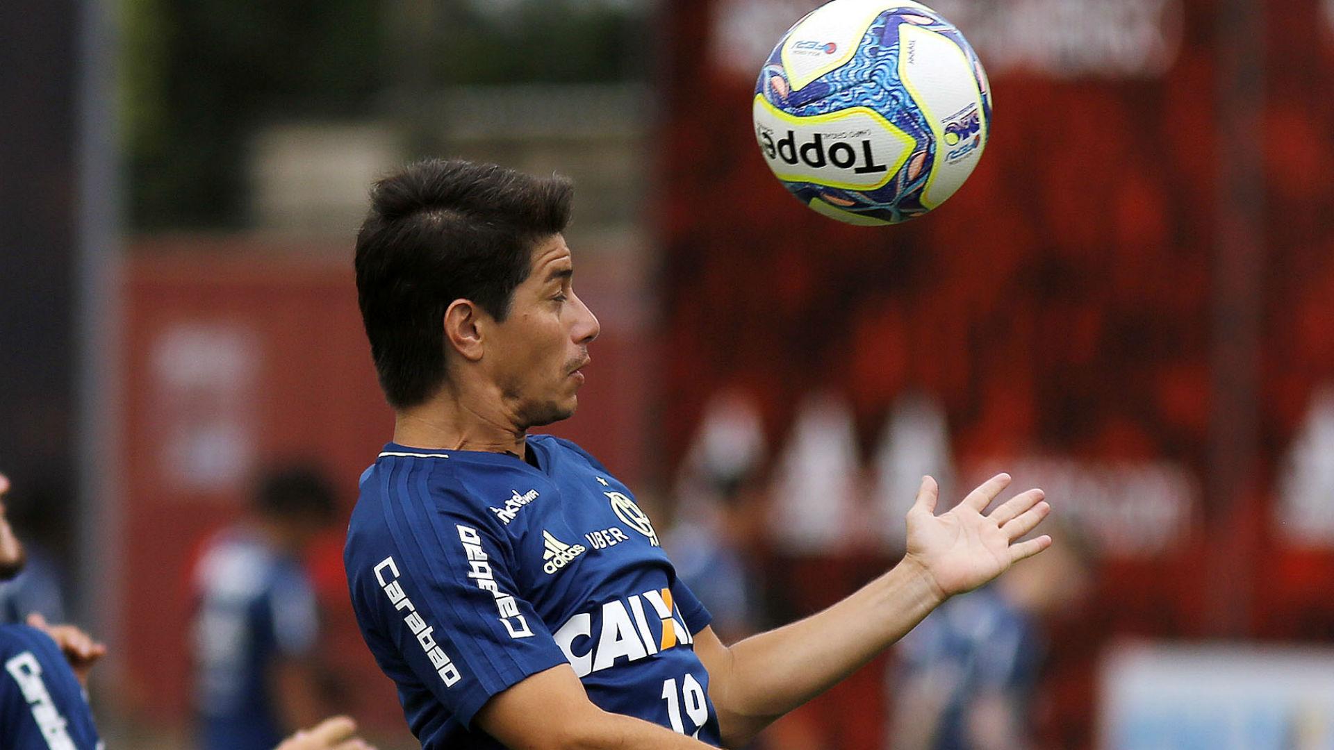 Conca treino Flamengo 14 04 2017