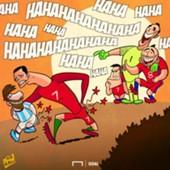 Cartoon of the day Cristiano Ronaldo Leo Messi and Chile