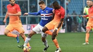Patrik Schick Sampdoria Roma