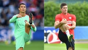 Robert Lewandowski - Cristiano Ronaldo