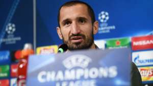 Chiellini Juventus press conference