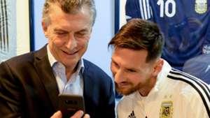 Mauricio Macri Lionel Messi 30052018