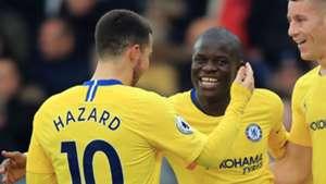 Eden Hazard N'Golo Kante Chelsea 2018-19