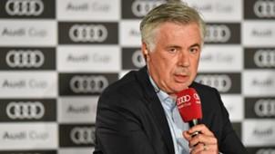 Carlo Ancelotti FC Bayern 31072017