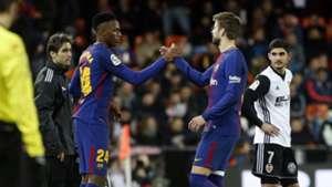 Yerry Mina & Gerard Piqué Barcelona 08022018