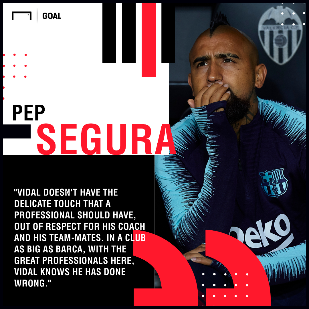 Arturo Vidal Barcelona Segura PS