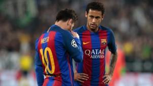 Lionel Messi Neymar Juventus Barcelona UCL 11042017