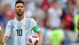 Lionel Messi Argentinien 2018