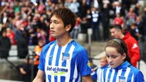 2017-10-02 Haraguchi Genki Hertha Berlin