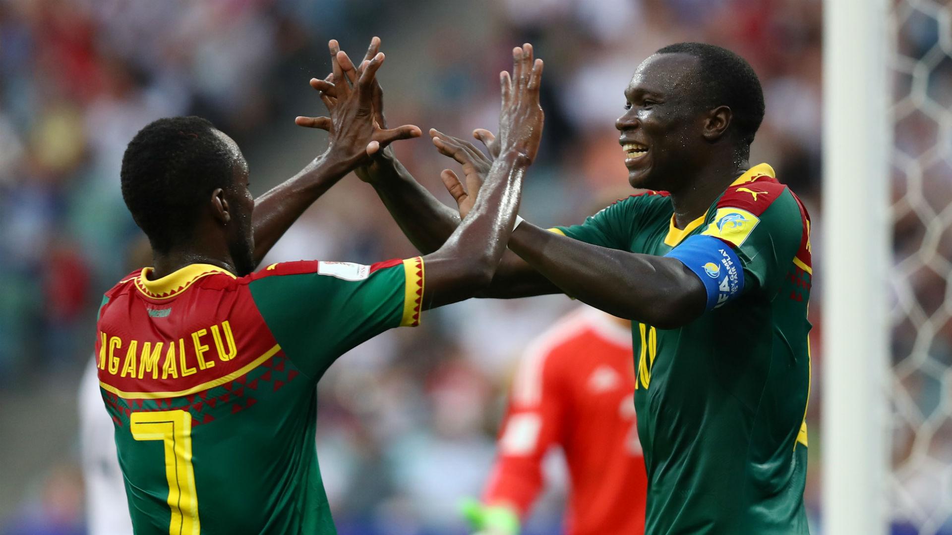 Vincent Aboubakar, Michael Ngamaleu Ngadeu - Cameroon