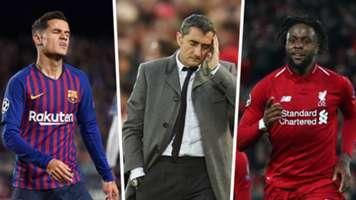 Valverde Coutinho Origi Barcelona Liverpool