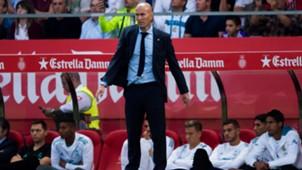 Zinedine Zidane Real Madrid 29102017