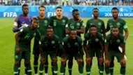 Nigeria v. Argentina - Starting XI