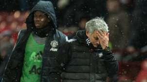 Jose Mourinho, Paul Pogba, Man Utd