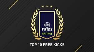 Freistoß Top 10 FIFA 18