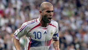 Zinedine Zidane World Cup 2006 France