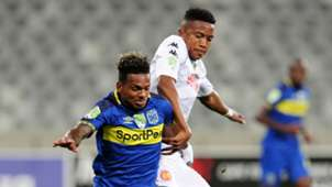 Kermit Erasmus, Cape Town City & Spiwe Msimango, Highlands Park, February 2019