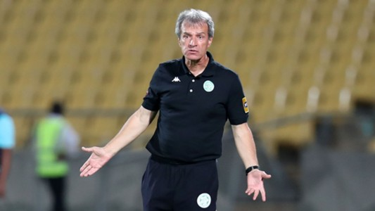 Veselin Jelusic, coach of Bloemfontein Celtic