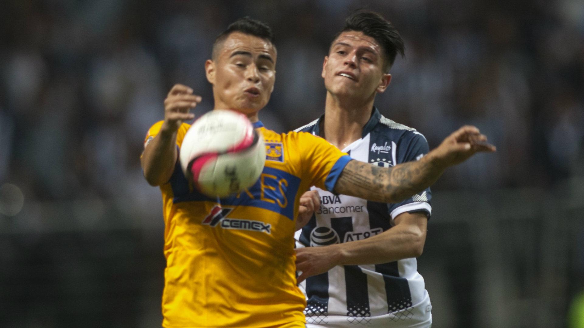 Lucas Zelarayan Tigres Jonathan Gonzalez Monterrey