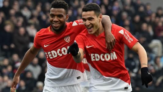 Rony Lopes Thomas Lemar Toulouse Monaco Ligue 1 24022018