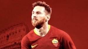 Messi na Roma