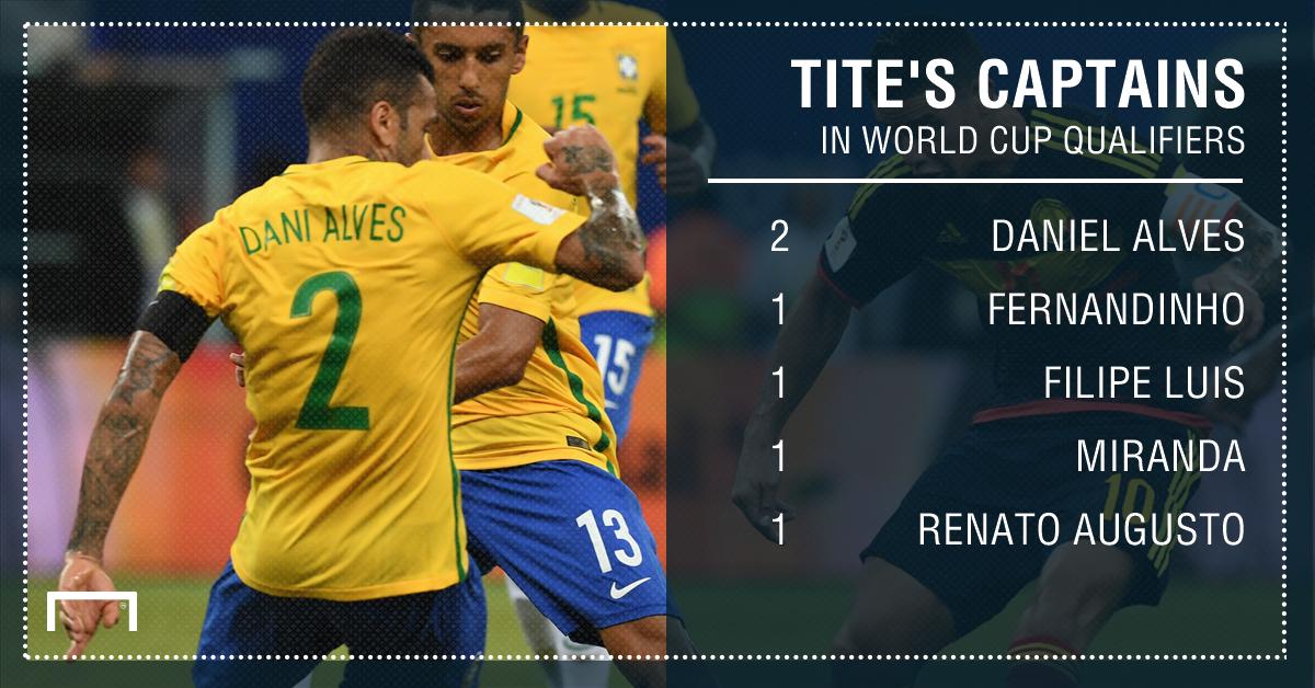 Brazil captains 23032017