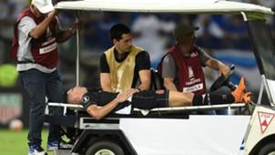Paulinho lesao Cruzeiro Vasco 04042018 Copa Libertadores