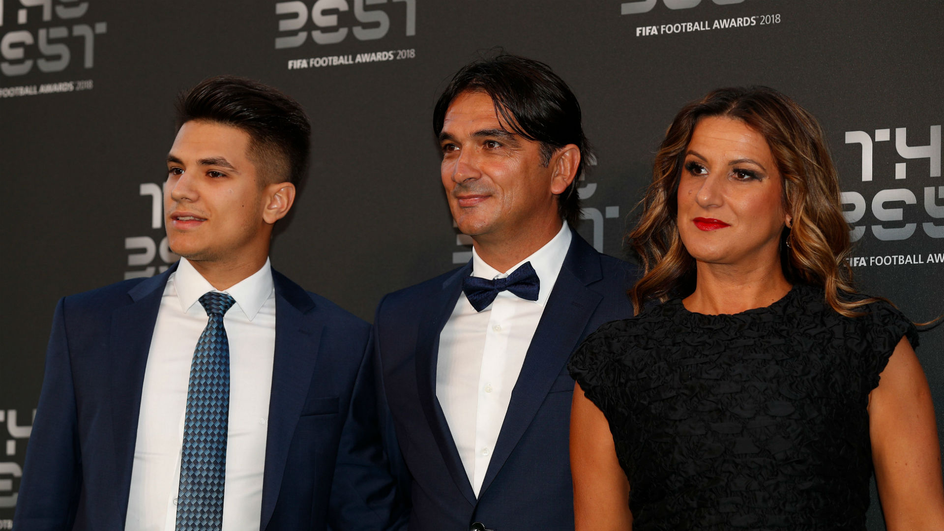 zlatko dalic - fifa the best - family - 24092018
