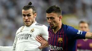 Gareth Bale Clement Lenglet Real Madrid Barcelona 2018-19