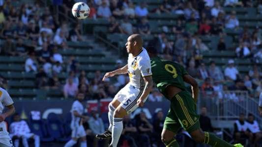 Rafael Garcia Fanendo Adi LA Galaxy Portland Timbers