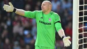 Brad Guzan Middlesbrough Premier League