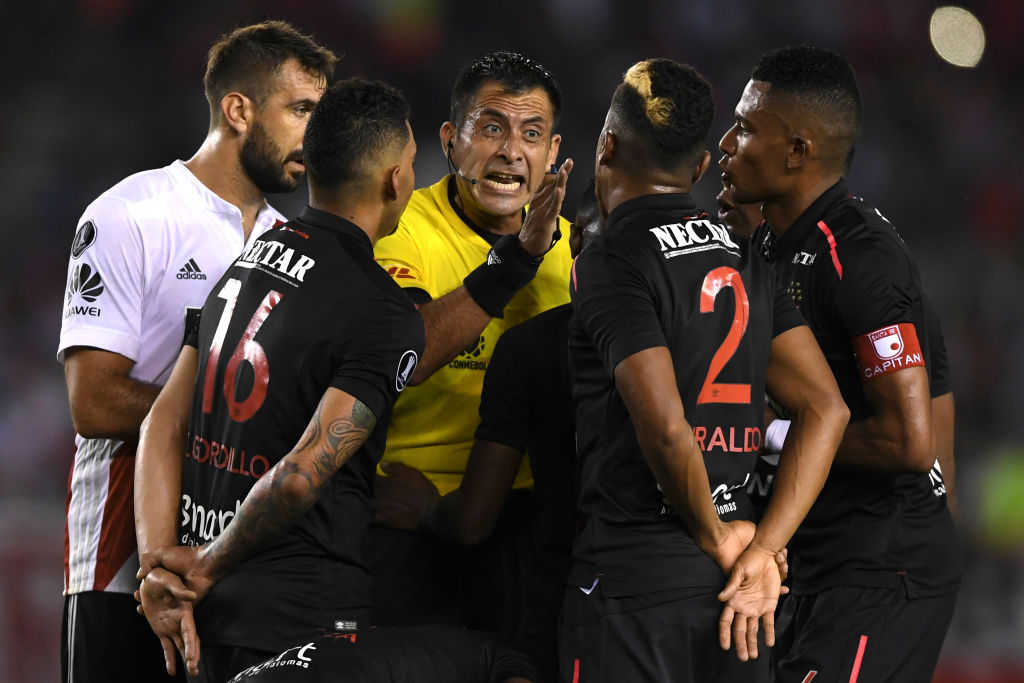 Independiente Santa fe vs River Plate Copa lIbertadores 2018