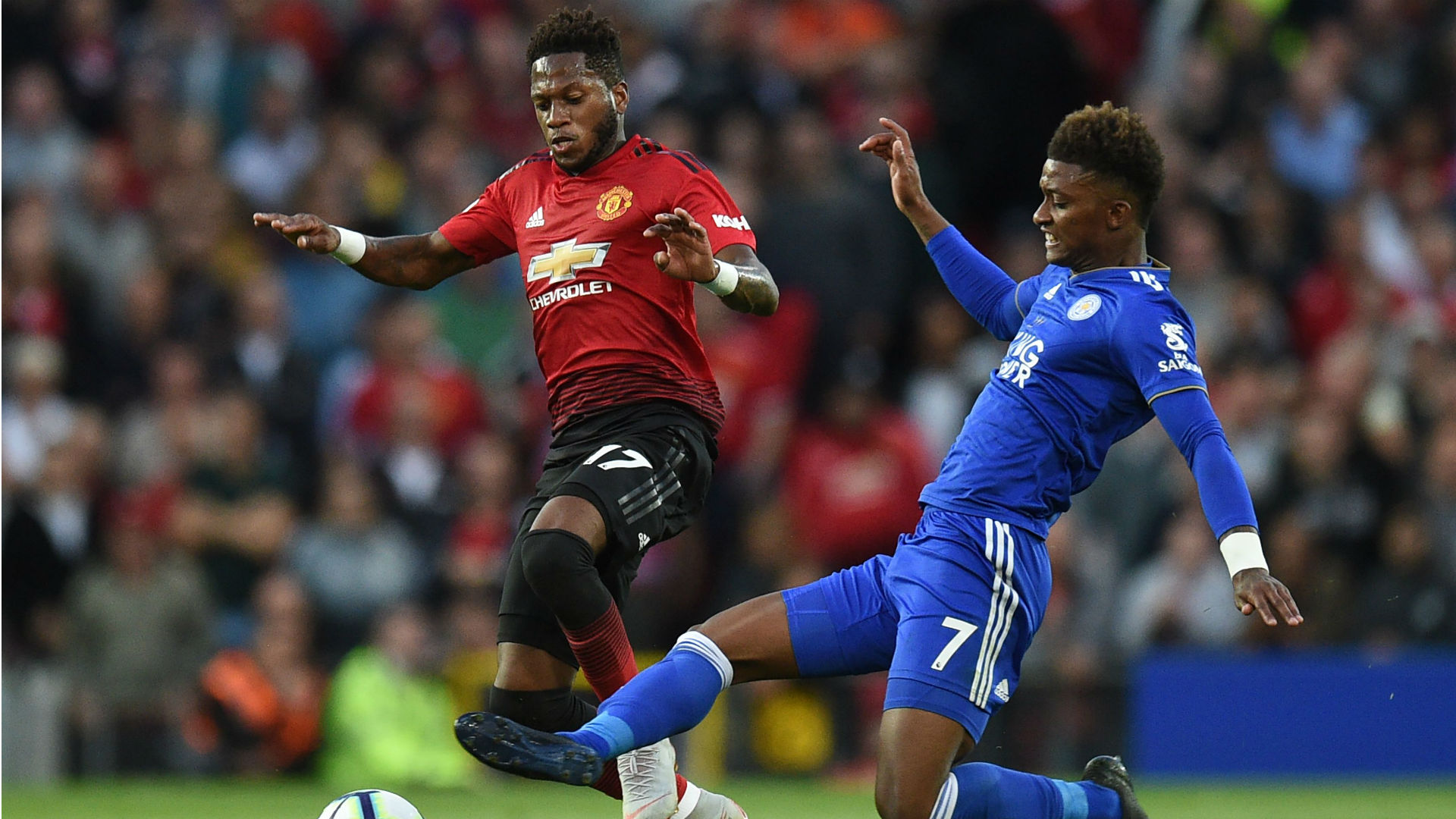 Fred Manchester United Leicester Premier League 10 08 2018