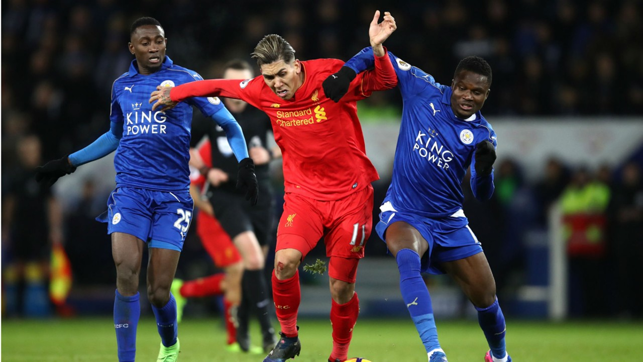 Daniel Amartey, Wilfred Ndidi, Roberto Firmino - Leicester City, Liverpool 27022017