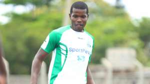 Pascal Ogweno of Kariobanhi Sharks trains with Gor Mahia.