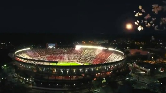 Captura Estadio Monumental River Independiente Copa Libertadores 02102018