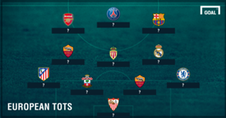 European Team of the Season PS