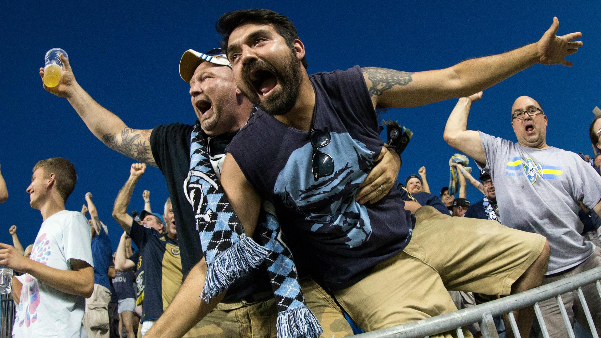 Philadelphia Union fans