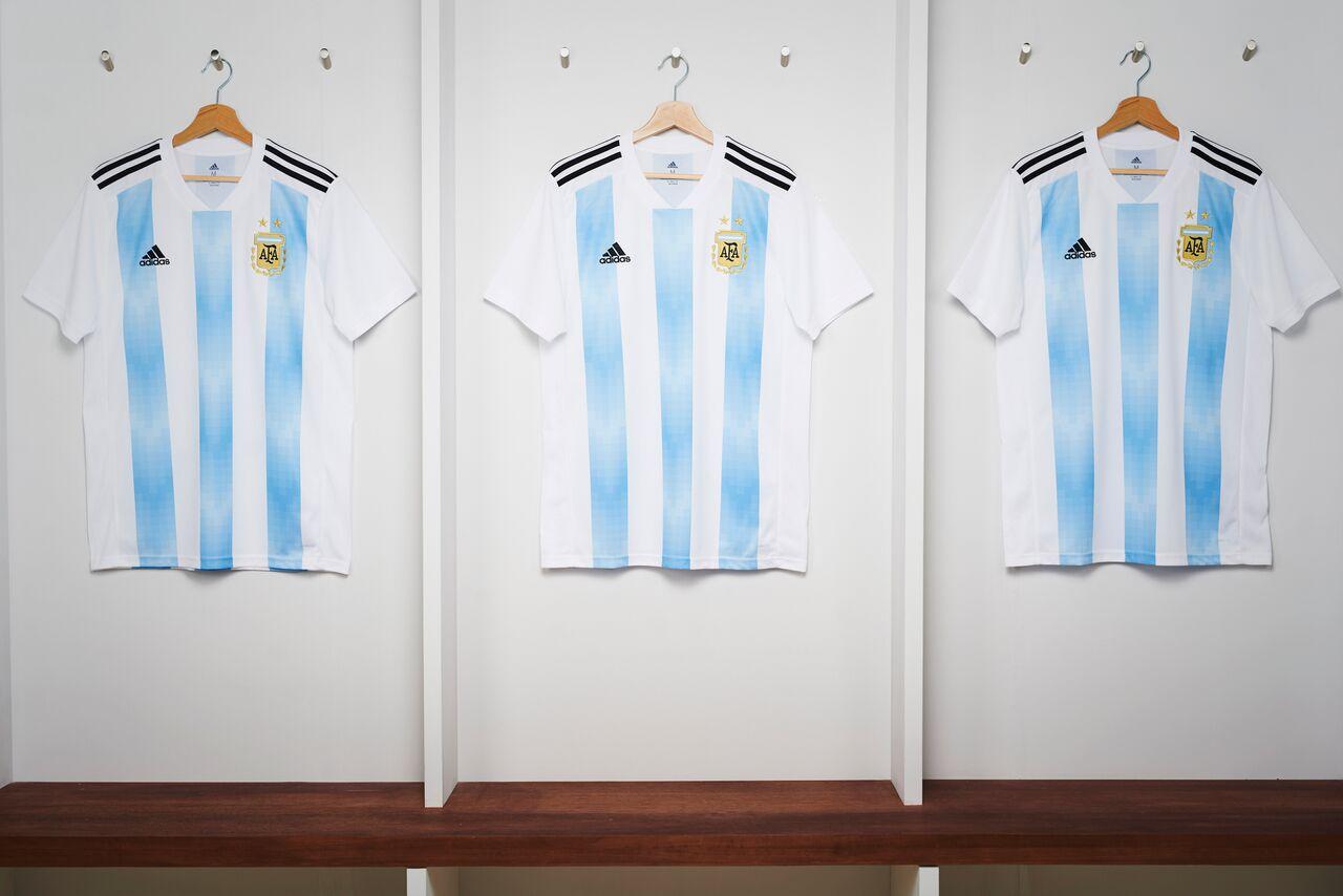 camiseta Argentina Rusia 2018