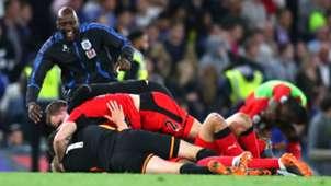 Huddersfield Celebration Chelsea Huddersfield Town Premier League