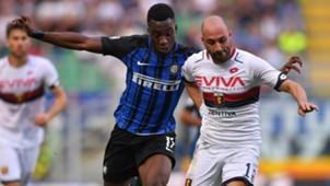 Yann Karamoh, Francesco Migliore, Inter, Genoa, Serie A, 24092017