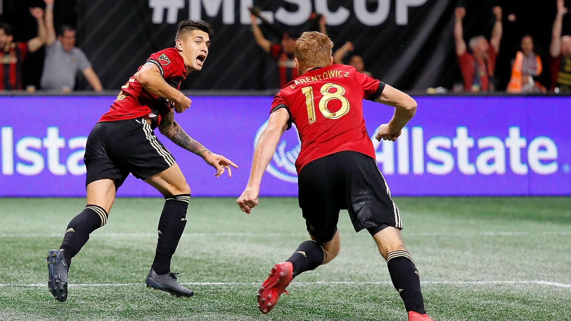 Franco Escobar Jeff Larentowicz Atlanta United MLS Cup 2018