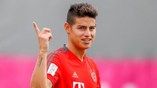 James Rodriguez Bayern Munich Bundesliga 2018