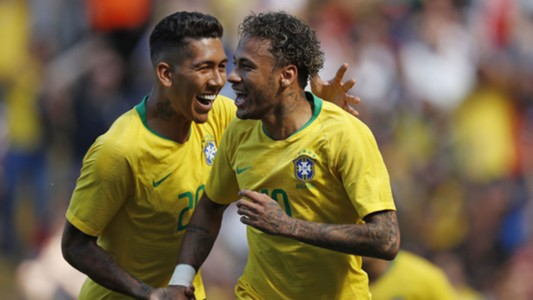 Neymar Firmino Brazil Croatia Friendlies 03062018